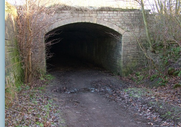West Entrance to the Dark Arch Tunnel