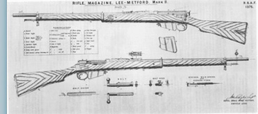 Metford Rifle, for target shooting