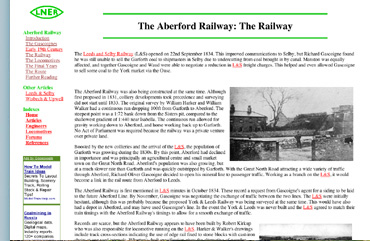 LNER The Aberford Railway Site