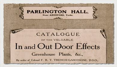 Parlington Sale Catalogue 1905