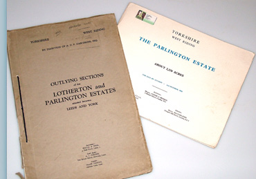 The 1938 and 1964 Sale brochures